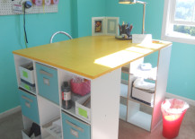 standing desk 13 217x155 8 Design Tips for Standing Desks That Are Versatile Enough for Sitting Too!