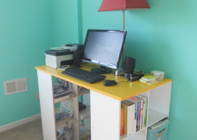 standing desk 14 217x155 8 Design Tips for Standing Desks That Are Versatile Enough for Sitting Too!