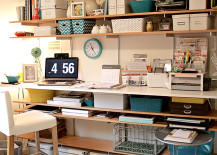 standing desk 7 217x155 8 Design Tips for Standing Desks That Are Versatile Enough for Sitting Too!