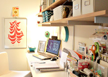 standing desk 8 217x155 8 Design Tips for Standing Desks That Are Versatile Enough for Sitting Too!