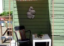 Smart and simple sun shade idea