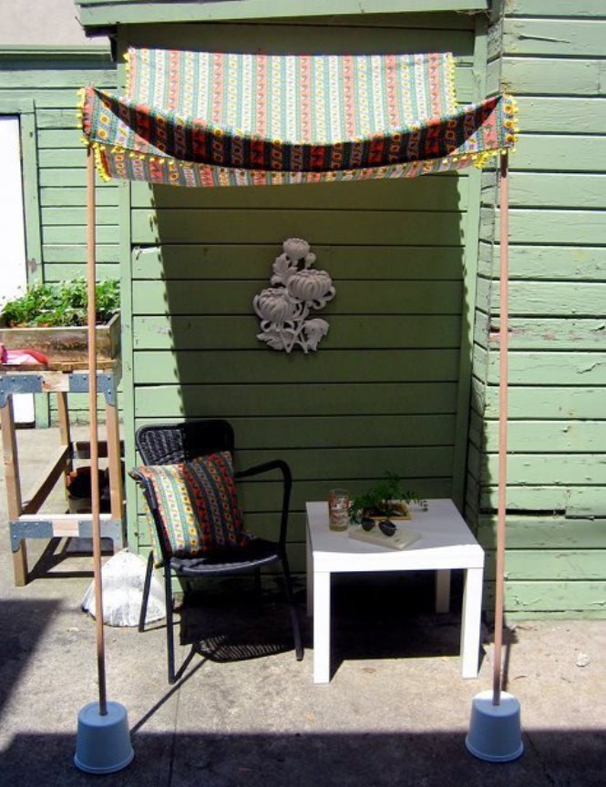 Easy Canopy Ideas To Add More Shade To Your Yard