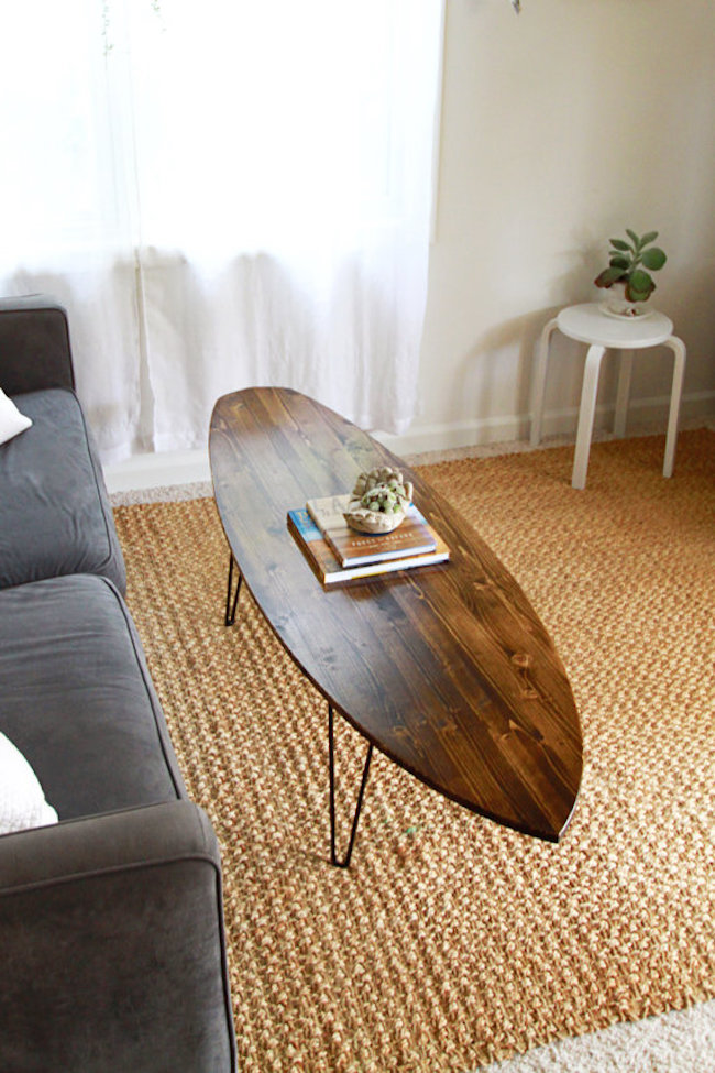 16 Beachy Surfboard Decorating Ideas