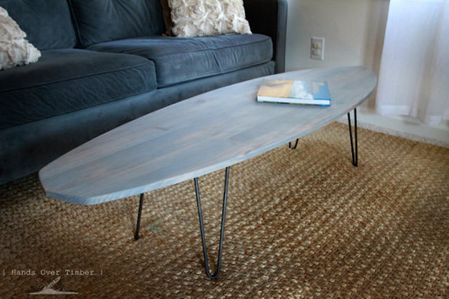 surfboard coffee table 12
