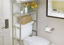 toilet shelf storage bathroom 7 217x155 8 Brilliant Storage Ideas for Your Small Bathroom