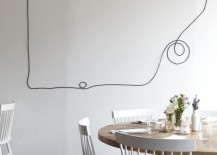Wired Skylines & Turn Your Unsightly Wire Cables and Cords into Wall Art