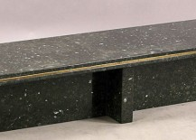 1950s granite coffee table from 1stdibs