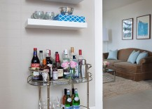 A-vintage-bar-cart-and-a-few-floating-shelves-is-all-you-need-for-a-tiny-home-bar-217x155