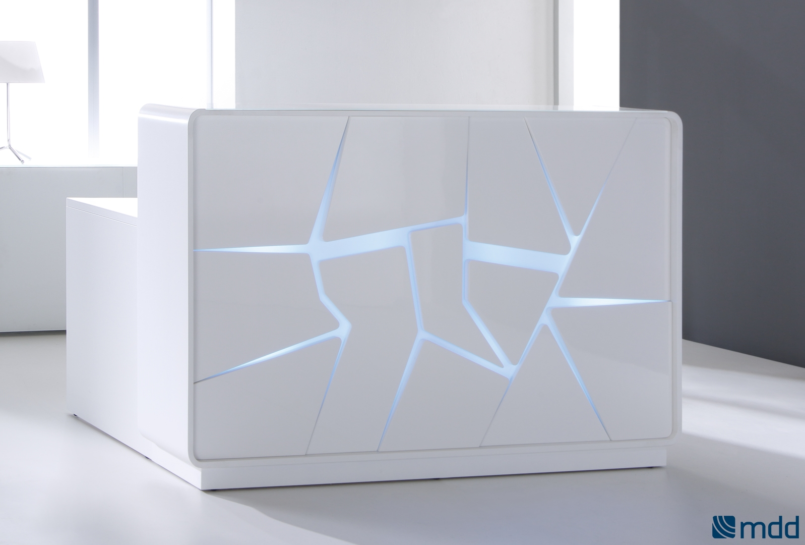 Arctic Summer reception desk