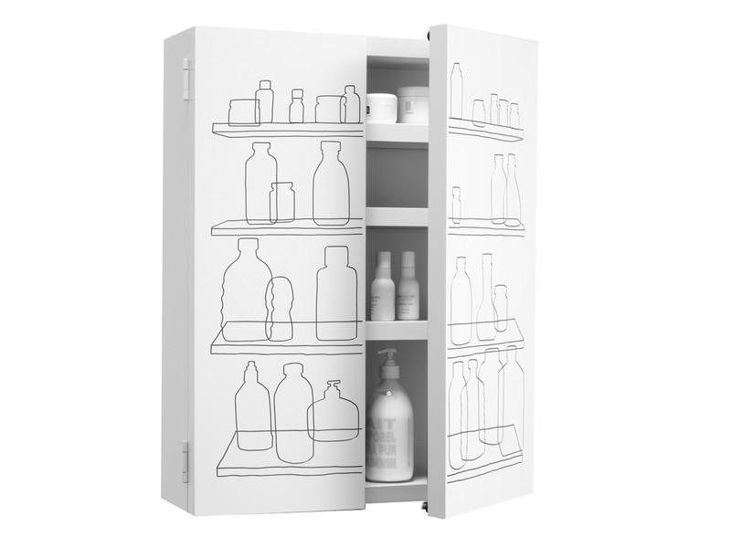 Authentics Inside-Out Bathroom Cabinet Double Door