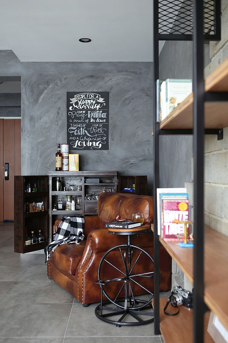 Man Cave Mini Bar Ideas : Small home bar ideas and space savvy designs