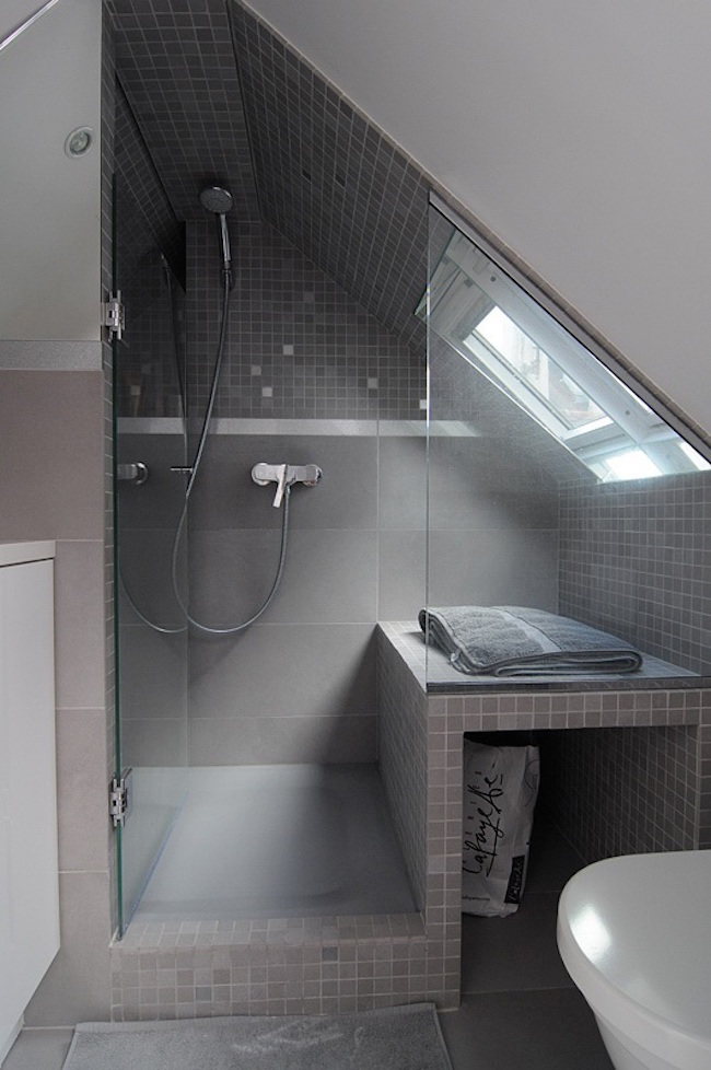 Small Attic 15 attics turned into breathtaking bathrooms