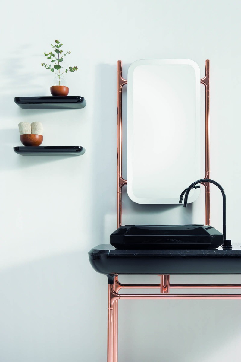Bisazza Bagno, The Hayon Collection Diamante Series