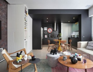 VF House: Enigmatic Rio Residence Shaped by Eclectic Decor and Bold Choices
