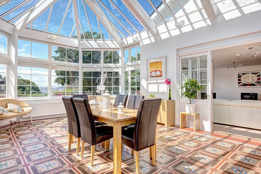 Bring in ample sunlight with a beautiful sunroom [From: Colin Cadle Photography]