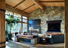 Cabin style meets modern comfort inside the lavish Colorado home 217x155 Eberl Residence: Organic Fusion of Rustic Beauty and Modern Luxury