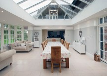 Captivating glass roof for the audacious sunroom