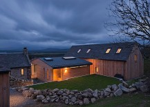 Classy Scottish home surrounded by rolling hills
