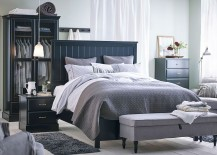 Classy-UNDREDAL-bed-frame-adds-dark-elegance-to-the-bedroom-217x155