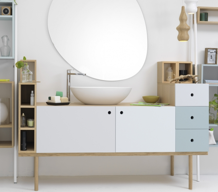 Collage Vanity Unit for Ex.t