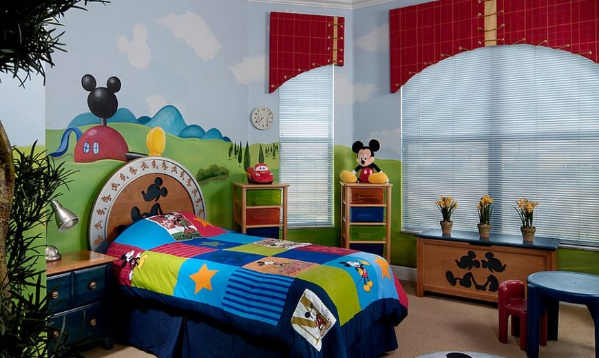 . 25 Disney Inspired Rooms That Celebrate Color and Creativity