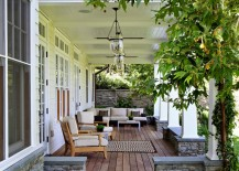 Comfy outdoor porch living area 217x155 Porch Furniture Ideas for Design Lovers