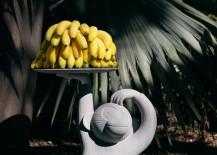 Concrete Monkey Side Table