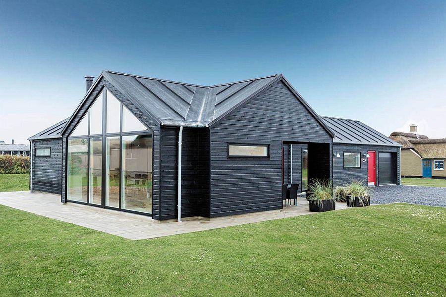 Exquisite summer house with danish design by skanlux for Scandinavian house plans
