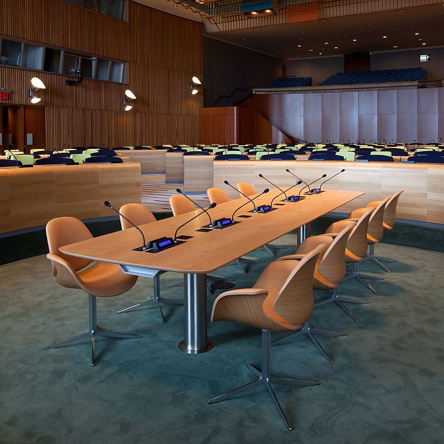 Council Chairs at the U.N. Headquarters in New York