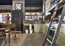 Custom crafted refrigerator with an artisanal design for the vintage kitchen 217x155 Nolita: Rediscover the Pleasure of a Timeless Vintage Family Kitchen