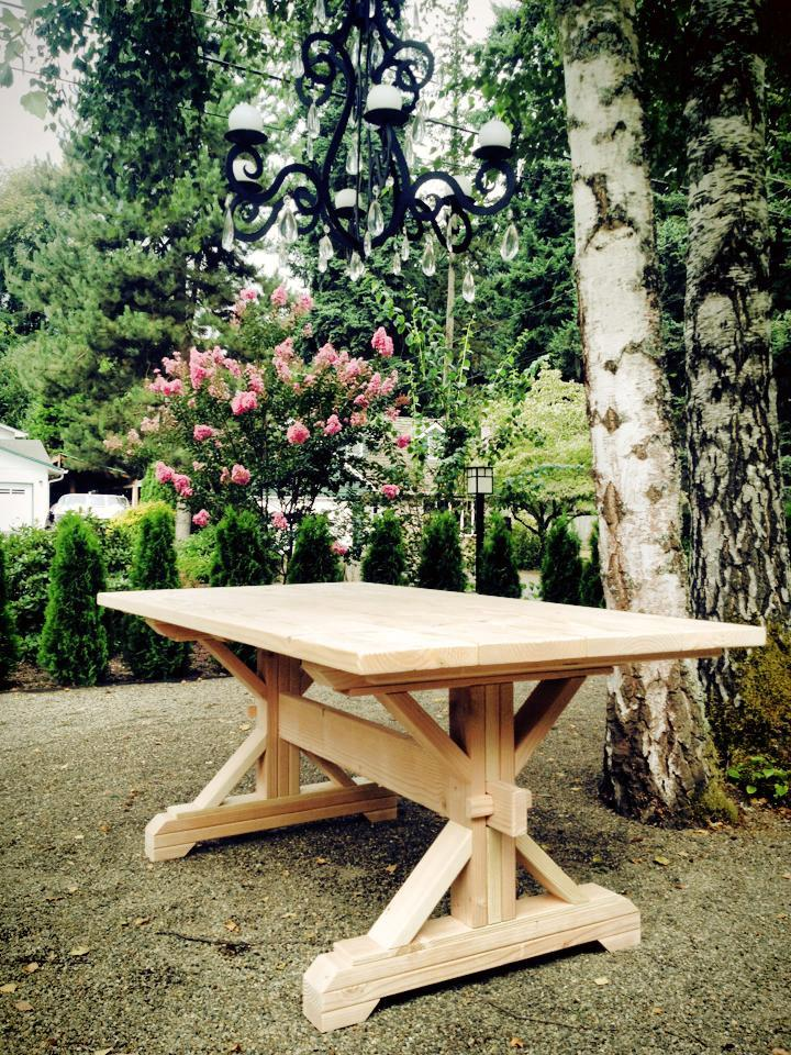17 elegant classic trestle tables How to build a farmhouse
