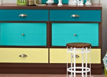 DIY painted dresser from Lowes 217x155 Color Your World with Painted Furniture