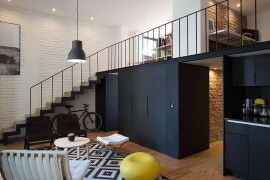 Exquisite Cordoba Flat Goes Industrial Chic with a Contemporary Twist