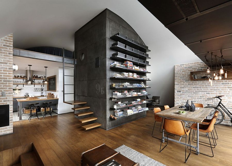 Curated Hipster Modernity Small Attic Apartment In Sofia