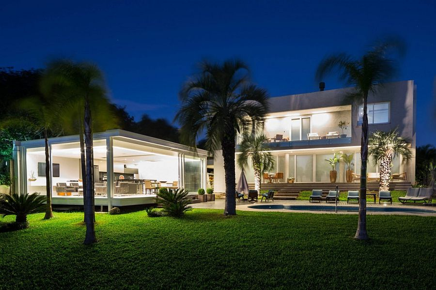 Contemporary Pool House In Porto Alegre By Kali Arquitetura