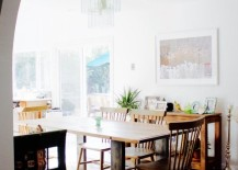 Dining room of Ramshackle Glam blogger Jordan Reid