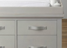 Dresser with leather pulls from RH Baby & Child