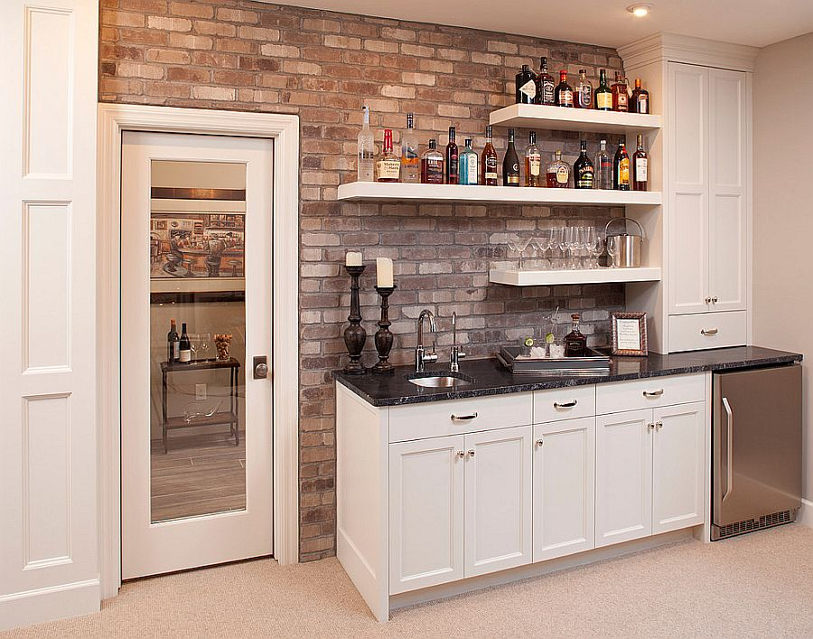 20 small home bar ideas and space savvy designs - Basement wet bar design ...