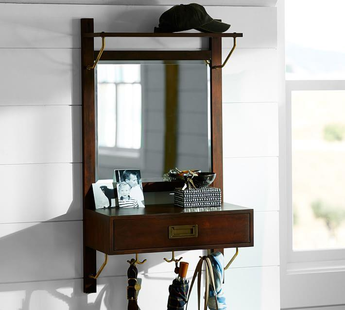 Entryway organizer from Pottery Barn