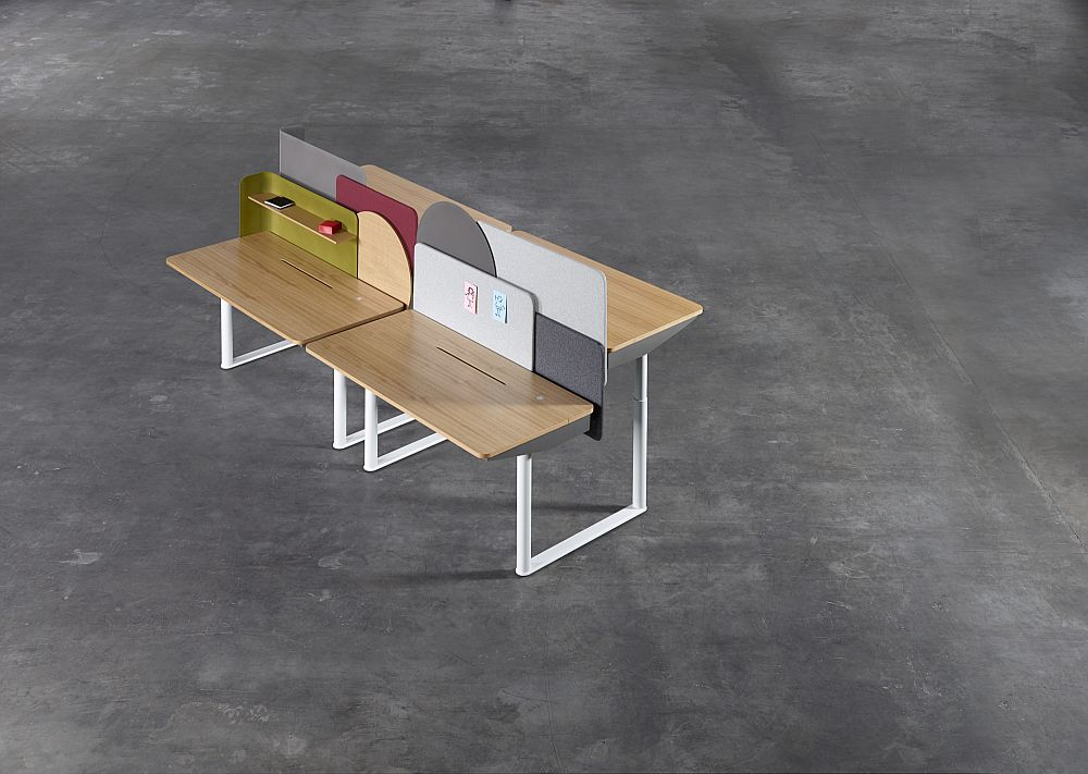 Evoluzione - Height adjustable tables by Tengbom Architects