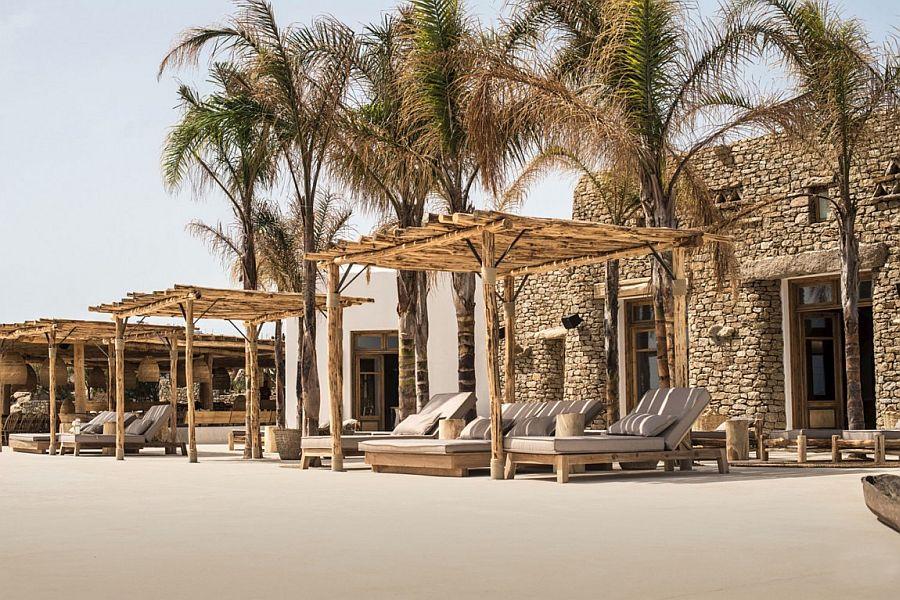 Exclusive design of Scorpios celebrates beach culture and Cycladic architecture
