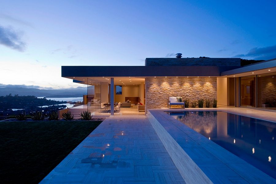 Exquisite Belvedere Tiburon home overlooking the Bay Area and Golden Gate bridge