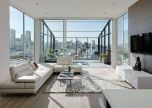 Exquisite modern conservatory in the San Francisco home [Design: Feldman Architecture]
