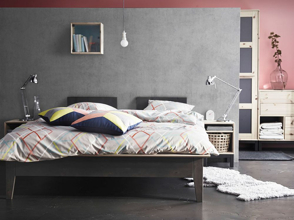 View In Gallery Fabulous NORNAS Bed Frame Is Perfect For The Modern  Minimalist