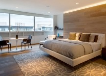 Fabulous floating bed frame for the contemporary bedroom