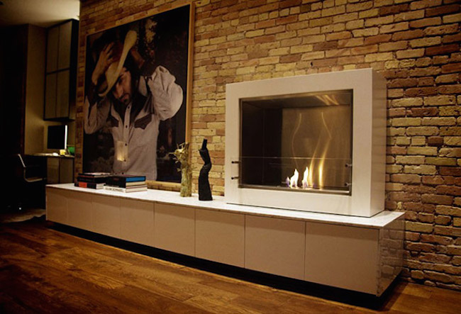Fire Aspect Indoor Fireplace from Ecosmart Fire