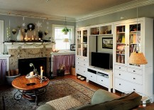 Fireplace-brings-festivity-to-the-dreamy-living-room-217x155