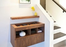 Floating console by J. Weiss Design