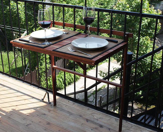 Creative Outdoor Accessories To Hang From Your Balcony Railing