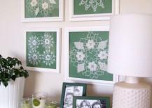 Framed-doilies-as-wall-art-217x155